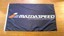 MAZDASPEED FLAG BANNER 3X5FT MAZDASPEED3 MAZDASPEED6 MAZDASPEED MX5