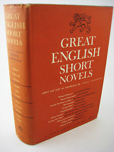 1st-1st-Printing-GREAT-ENGLISH-SHORT-NOVELS-Conrad-Huxley-Woolf-RARE-Stories