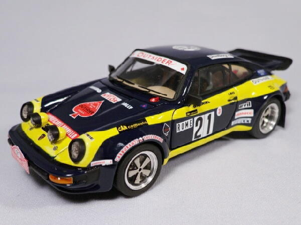 Kit Porsche 911 Turbo  21 Rally Montecarlo 1978 - arena models kit