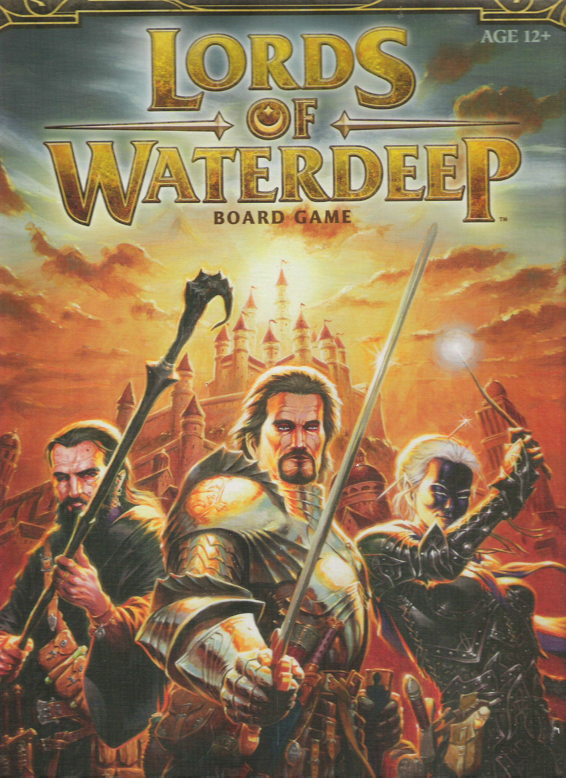 LORDS OF WATERDEEP NEW BOARDGAME REALMS DUNGEONS DRAGONS WOTC BOXED