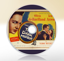 The Dark Mirror (1946) DVD Crime Drama Film Noir / Movie Olivia de Havilland