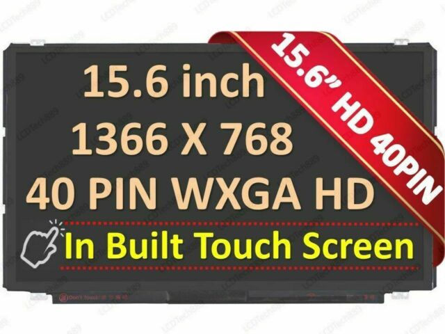 """15.6/"""" WXGA Glossy Laptop Non-Touch LED Screen For Dell Inspiron P28F"""