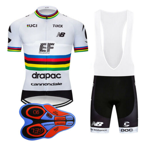 2019 New Men Racing Clothes Cycling Jersey Bib Shorts Set Outdoor bike sport Kit