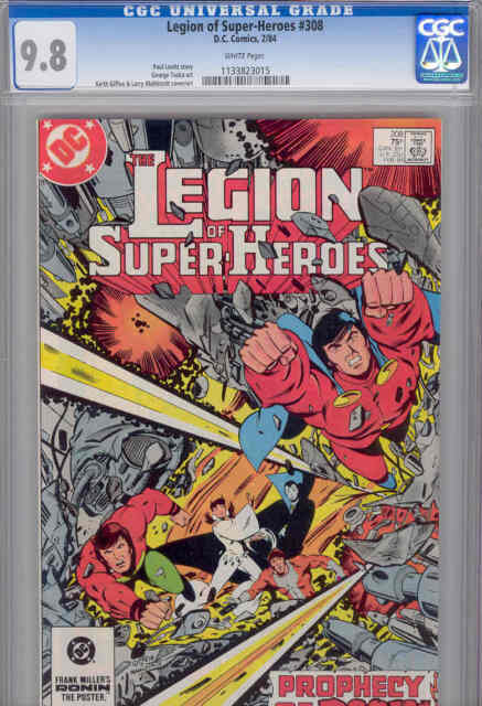 Legion Of Super Heroes 295 1983 Keith Giffen Larry: The Legion Of Super-Heroes #306 (Dec 1983, DC) For Sale