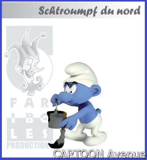 LE SCHTROUMPF DU NORD les schtroumpfs peyo fariboles smurfs