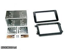 VW EOS 2006 onwards Piano Black Double Din Car Stereo Fitting Kit CT23VW09