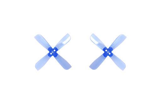 2L2R Gemfan 2035BN 2x3.5 Vierblatt Blau PC Propeller 2x CW 2x CCW