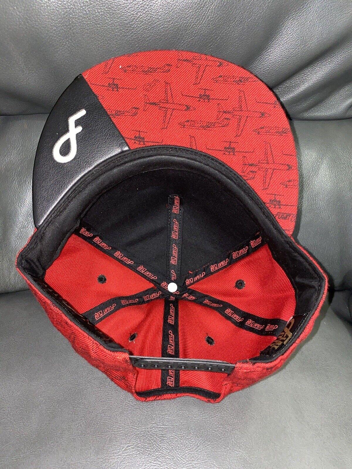 Red Flightclub Snapback - image 4