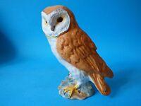 STUNNING LARGE RARER EARLY VINTAGE MATT BESWICK BARN OWL BIRD SPLIT TAIL #1046
