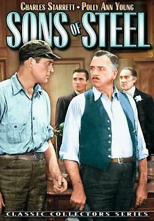 Sons Of Steel DVD, 2007 Charles Starrett Polly Ann Young, Charles Lamont NEW - $1.70