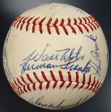 1967 NL All-Star Team Signed Baseball w/Roberto Clemente