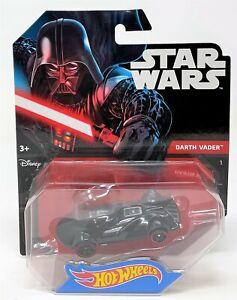 Hot Wheels Darth Vader Star Wars Personaje Juguete Diecast coche vehículo 7cm