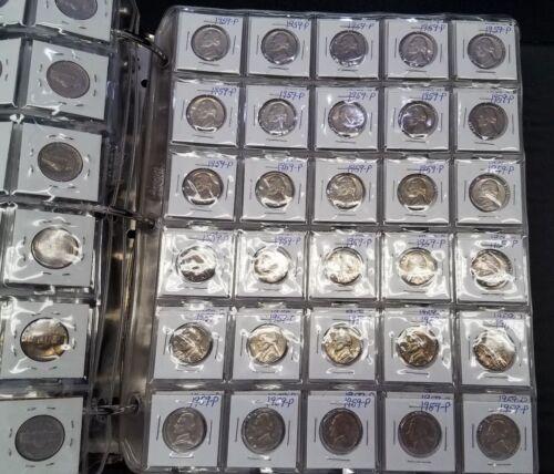 1 Coin from Album 1959 P Jefferson Nickel Five Cent Better Grade