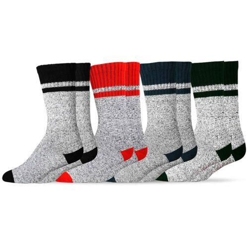 Largos 9-11 Size Calcetines Termicos Para Hombre De Hielo Contra Frio 4 Pares