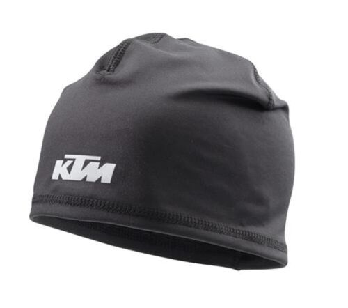 KTM Emphasis Polyester Black Beanie Hat New 2020 Collection