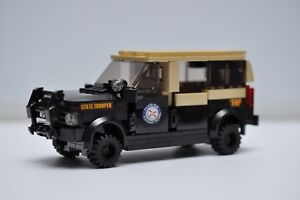 LEGO City Police Car Charger State Trooper Florida Highway Patrol FHP MOC