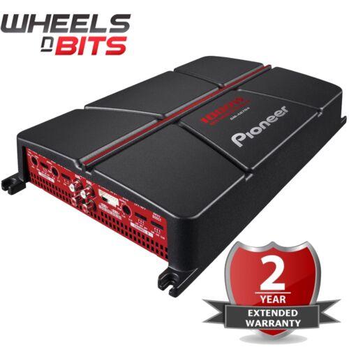 Pioneer GM-A6704 1000 vatios 4 canales Puenteable Amplificador Coche Amplificador Altavoces Subs