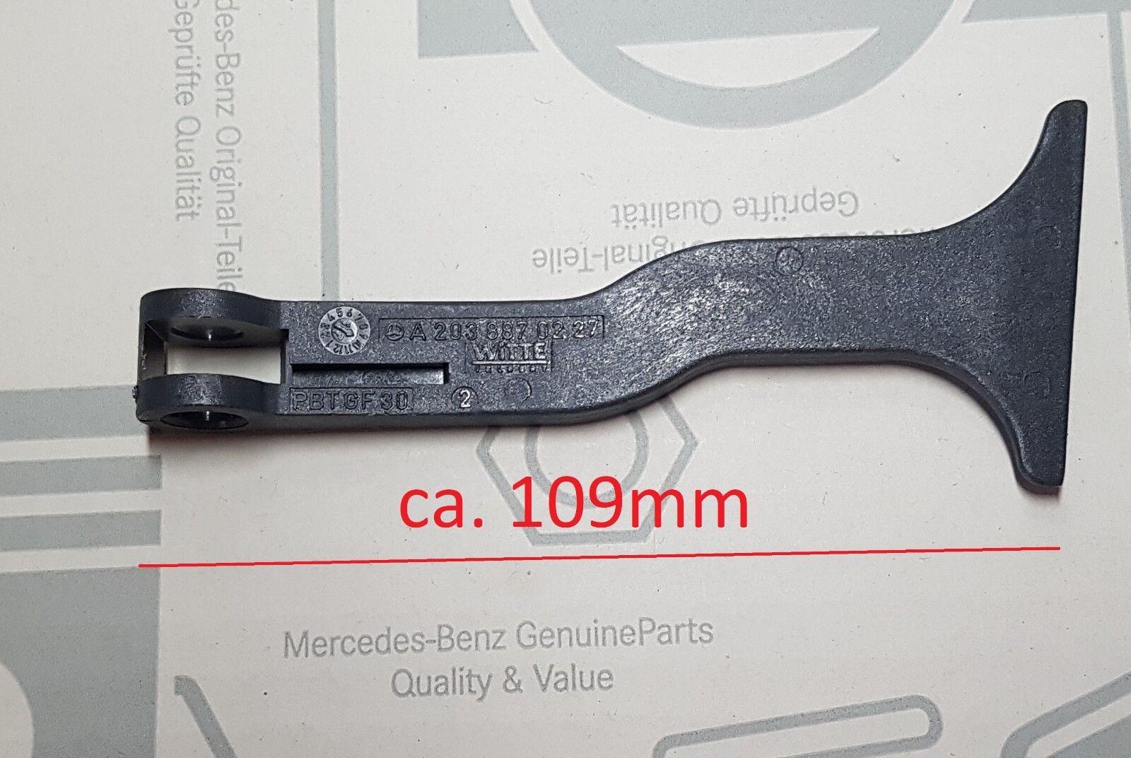 Maniglia Cofano Apricofano Motorhaubenentriegelu Mercedes 168 169 202 203 204