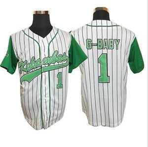 G-Baby Jarius Evans  1 Kekambas Hardball Baseball Jersey G Baby ... de3580d734