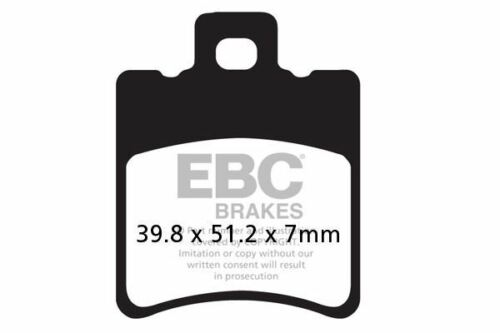 FIT YAMAHA YH 50 Why 99/>09 EBC FRONT ORGANIC BRAKE PADS