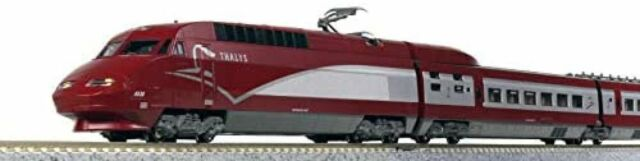 KATO N-scale Thalys PBA new paint 10-car set 10-1657 model train from JAPAN