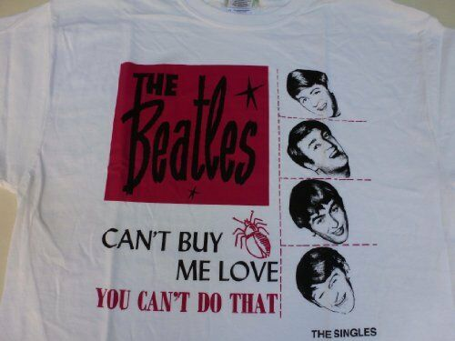 the singles beatles-you cant buy me love 5055057218163 size L Guys