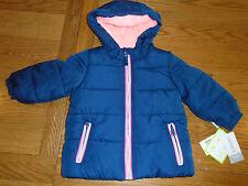 BNWT Carters baby boy hooded winter coat. Water & wind resistant. 12 months