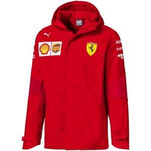 Puma-Scuderia-Ferrari-Team-Jacke-SF-F1-Herren-Kapuzenjacke-Official-Formel-1