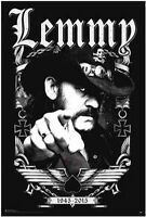 Lemmy - Motorhead - Memorial Poster - 24x36 - 3268