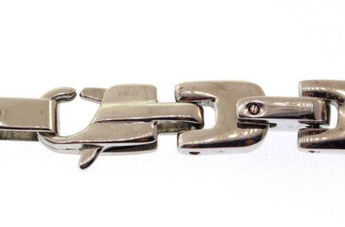 5 WHOLESALE LOT White /& Chocolate Ion Plated Stainless Steel 7mm Bracelets