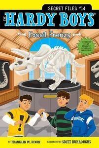Fossil-Frenzy-Hardy-Boys-The-Secret-Files-Dixon-Franklin-W-Used