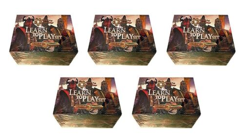 AEG L5R LEGEND OF THE FIVE RINGS HONOR & TREACHERY STARTER DECK X 5