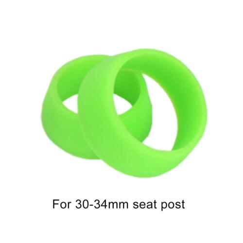 MTB Road Bike Bicycle Seat Post Silicone Rubber Ring Waterproof Dust Cover CL