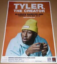 TYLER THE CREATOR - rare UK live music show tour concert gig poster - golf wang