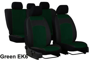 "HONDA CR-V MK4 2012-2018 ECO LEATHER /& FABRIC /""ROYAL/"" TAILORED SEAT COVERS"