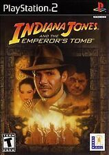 Indiana Jones and the Emperor's Tomb, Very Good PlayStation2, Pc Video Games