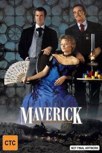 Maverick-dvd-region-4-Australian-like-new-condition-free-postage-Australia-wide