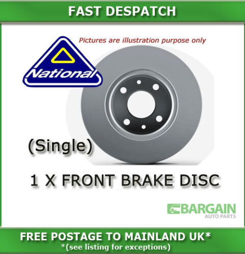 FRONT BRAKE DISC FOR FORD MONDEO 2.0 03/2007 - 327