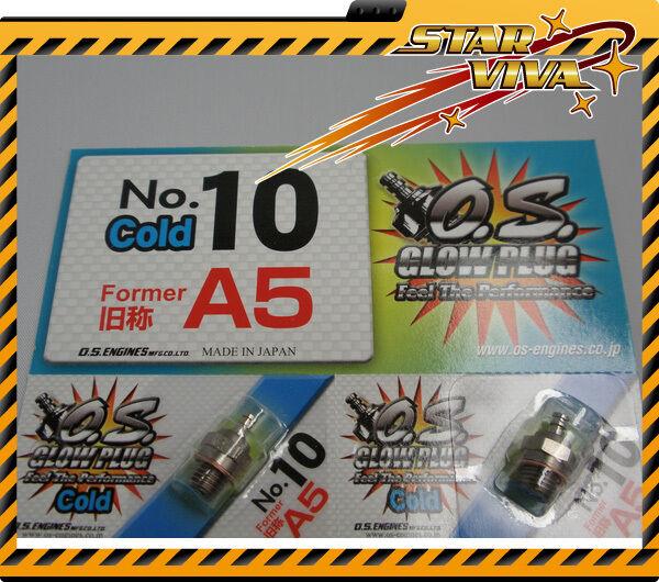 O.S. Glow Plug No.10 Former A5 x 12 pcs (Free Shipping ) SVA5