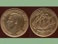ROYAUME UNI  half penny 1951   ( SPL )