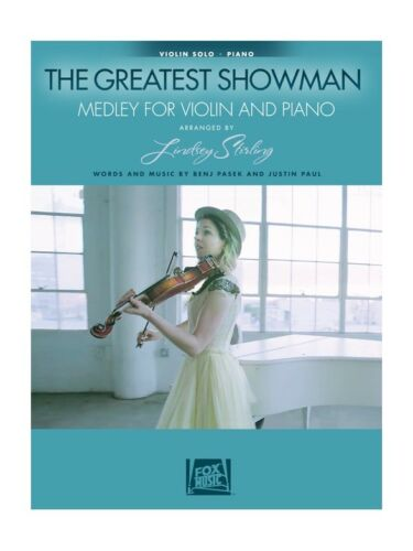 Lindsey Stirling The Greatest Showman Medley For Violin /& Piano MUSIC BOOK