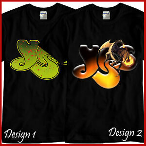 YES-Rock-Band-Tribute-CD-Music-Black-T-Shirt-TShirt-Tee-Size-S-M-L-XL-2XL-3XL