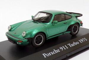 Atlas-Editions-1-43-escala-2-891-010-1967-5-Porsche-911-Turbo-Verde-Metalico
