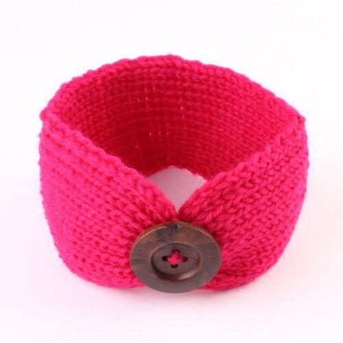 Kids Baby Girls Toddler Knit Turban Hair Band Headwear Winter Accessories Xmas