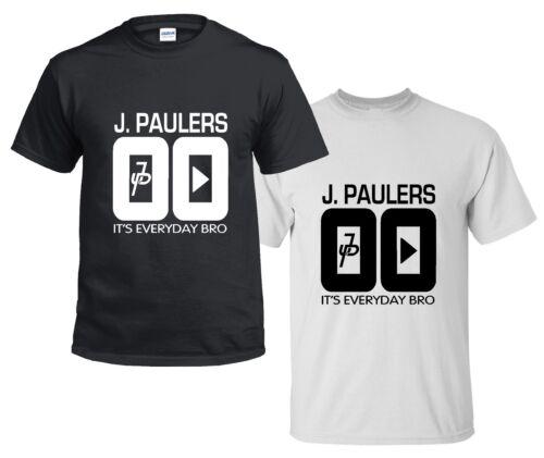 CHILDRENS Kids J PAULERS 00 t shirt jake paul logan logang jp 5-13 YEARS