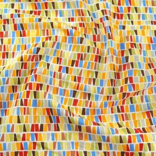 100/% Tissu De Coton Rose /& Hubble Abstract blocs tache Aspect Verre
