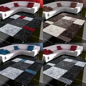 design moderne COUPE CONTOUR Tapis à carreaux salon différentes ...