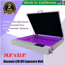 248 X 326 Silk Screen Printing Tabletop Precise Vacuum Led Uv Exposure Unit