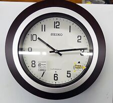 "SEIKO ""EASTON"" MUSICAL  WALL CLOCK WITH 18 DIFFERENT HI-FI MELODIES  QXM547BLH"