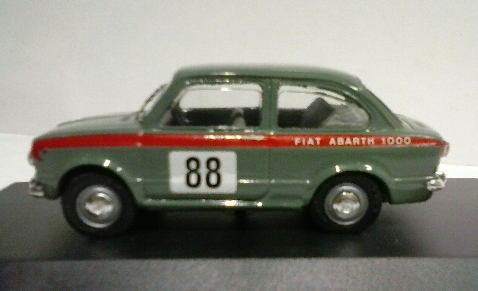 TEL MODEL BY SCOTTOY 1 43 MADE IN ITALY FIAT ABARTH 1000 GARA  TEL 015